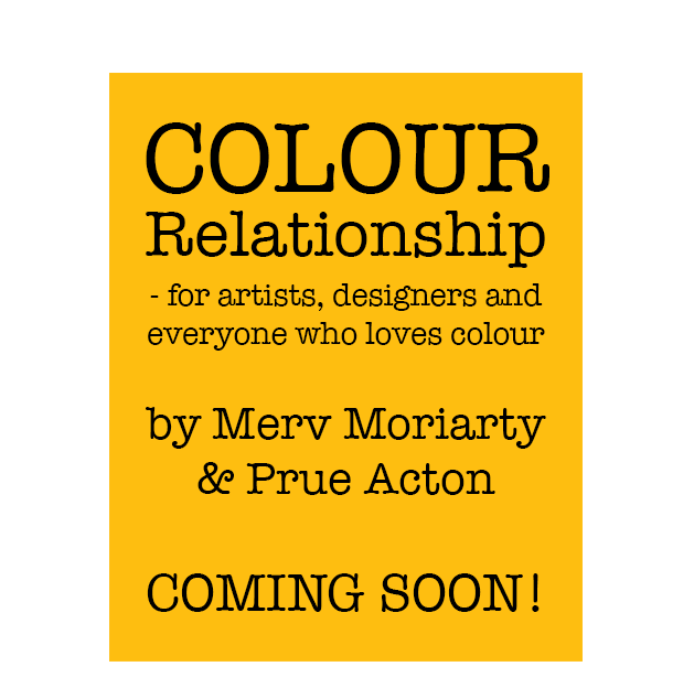 Book on COLOUR by Prue Acton - coming soon